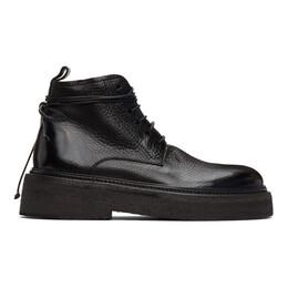 Marsell Black Parruccona Anfibio Pedula Boots MM2812