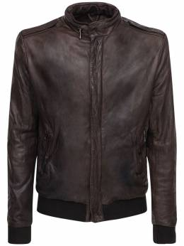Кожаная Куртка Giorgio Brato 72I0AQ006-VE1PUk81