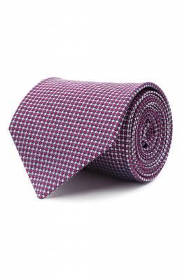 Шелковый галстук Luigi Borrelli LC80-B/TT30035