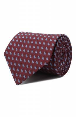 Шелковый галстук Luigi Borrelli LC80-B/TT30283