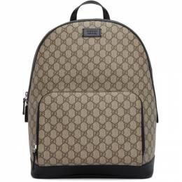 Gucci Beige and Black GG Eden Backpack 406370 KLQAX
