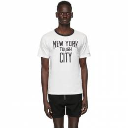 Takahiromiyashita The Soloist White New York Tough City T-Shirt sc.0100
