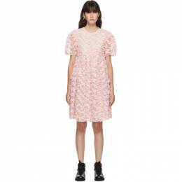 Cecilie Bahnsen Pink Tulle Tira Dress PF20-0044