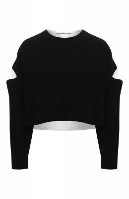 Хлопковый свитер T By Alexander Wang 4KC1201035