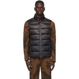 Parajumpers Black Down Jeordie Sleeveless Vest PM JCK SX01