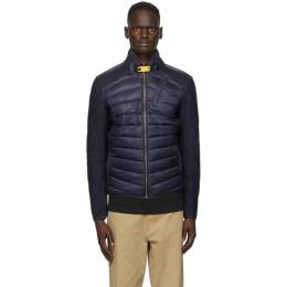 Parajumpers Navy Down Jayden Hybrid Jacket PM JCK WU01