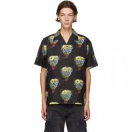 Neighborhood Black Kouzan Short Sleeve Shirt 201TSNH-SHM14