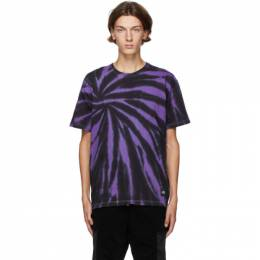 Neighborhood Purple and Black Gramicci Edition Tie-Dye T-Shirt 201PCGMN-CSM01S