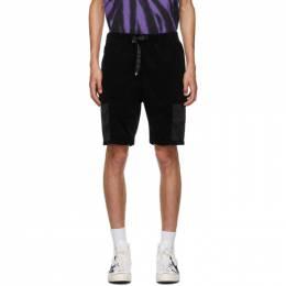Neighborhood Black Gramicci Edition Solid Shorts 201AQGMN-PTM02S