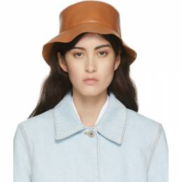 Loewe Tan Leather Fisherman Bucket Hat 112.10.010