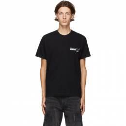 Neighborhood Black Dr. Woo Edition Arrow T-Shirt 201PCDWN-ST01S