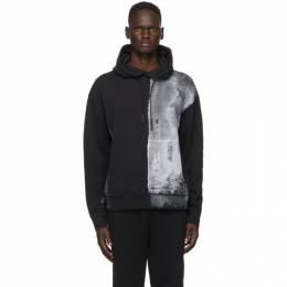 A-Cold-Wall* Black Painted Hoodie ACWMW011