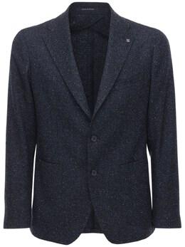 Пиджак Из Смешанной Шерсти Tagliatore 72I0TQ010-QjEwNTk1