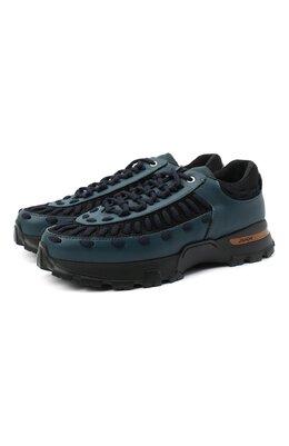 Комбинированные кроссовки Claudio Zegna Couture A4256X-LHSSP
