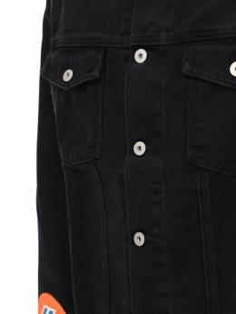 Куртка Из Денима С Аппликациями Heron Preston 72IWHP033-MTAwMA2
