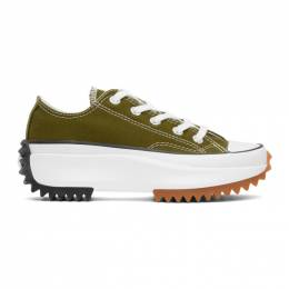 Converse Green Run Star Hike Sneakers 168818C