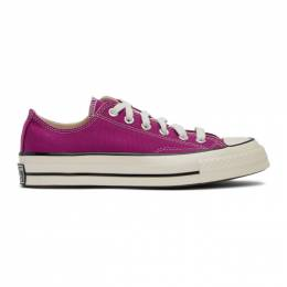 Converse Pink Chuck 70 OX Sneakers 168506C