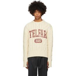 Telfar Off-White Thumbhole Sweater FW20-K-03