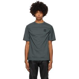 Telfar Grey Braided T-Shirt FW20-J-09