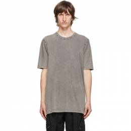 11 By Boris Bidjan Saberi Grey Acid Long Sleeve T-Shirt 163-TS5-F1101