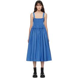 Molly Goddard Blue Kayla Dress MGAW20-40 KAYLA DRESS