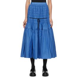Molly Goddard Blue Donnika Skirt MGAW20-36 DONNIKA SKI
