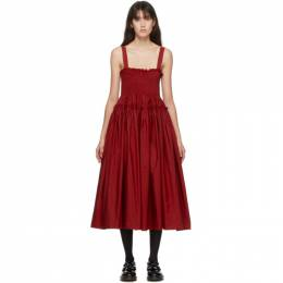 Molly Goddard Red Kayla Dress MGAW20-40 KAYLA DRESS