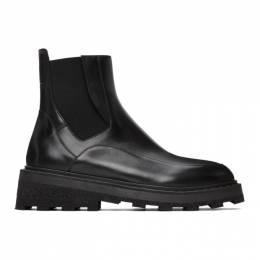 A-Cold-Wall* Black Oxford Chelsea Boots ACWUF014