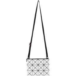 Bao Bao Issey Miyake White Lucent Bag BB08AG059
