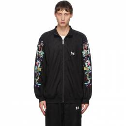 Doublet Black Chaos Embroidery Track Jacket 20AW20BL110