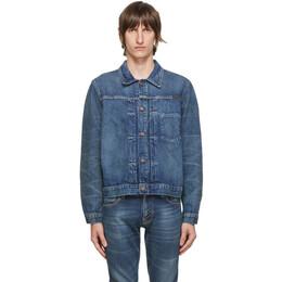 Nudie Jeans Blue Vinny Denim Jacket 160683