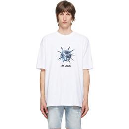 Ksubi White Time Crisis T-Shirt 5000005026