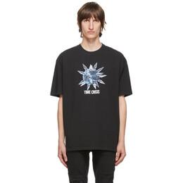 Ksubi Black Time Crisis T-Shirt 5000005038