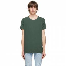 Ksubi Green Seeing Lines T-Shirt 5000005025