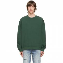 Ksubi Green Biggie Sweatshirt 5000005024