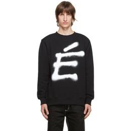 Etudes Black Story Big Accent Sweatshirt E17B-109-01