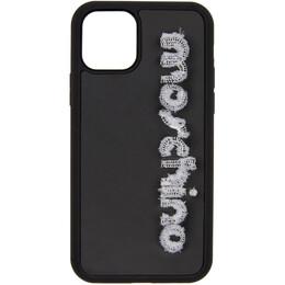 Moschino Black Logo iPhone 11 Pro Case 7908 8305