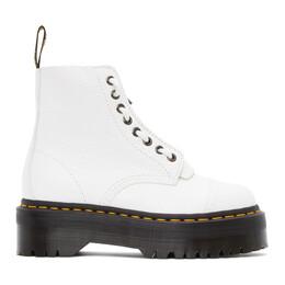 Dr. Martens White Sinclair Zip Boots 26261100