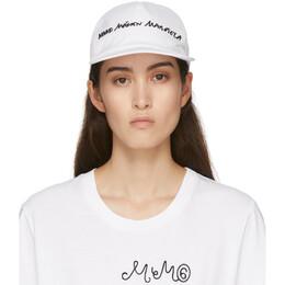 Mm6 Maison Margiela White Logo Cap S32TC0102 S52822