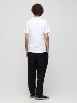 Футболка С Круглой Горловиной Comme Des Garcons Shirt 72IJRN003-Mw2