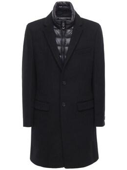 Полушерстяное Пальто На Пуху Mackage 72IGEH004-QkxBQ0s1