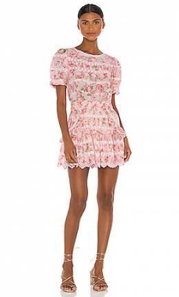 Мини платье augustine - Loveshackfancy LD810-684