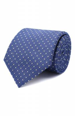 Шелковый галстук Canali 18/HJ02843