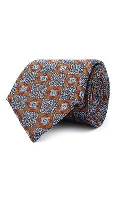 Шелковый галстук Canali 18/HJ02866