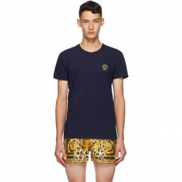 Versace Underwear Navy Medusa T-Shirt AUU01005 A232741