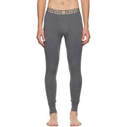 Versace Underwear Grey Medusa Lounge Pants AU100023 A232741