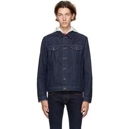 Hugo Navy Denim Extra Slim Jacket 50430954