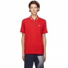 Hugo Red Dolmar Polo 50432191
