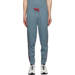 Hugo Grey Logo Tape Lounge Pants 50432341