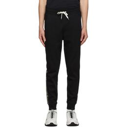 Hugo Black Logo Tape Lounge Pants 50432341
